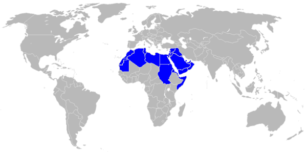 arabic-language-map