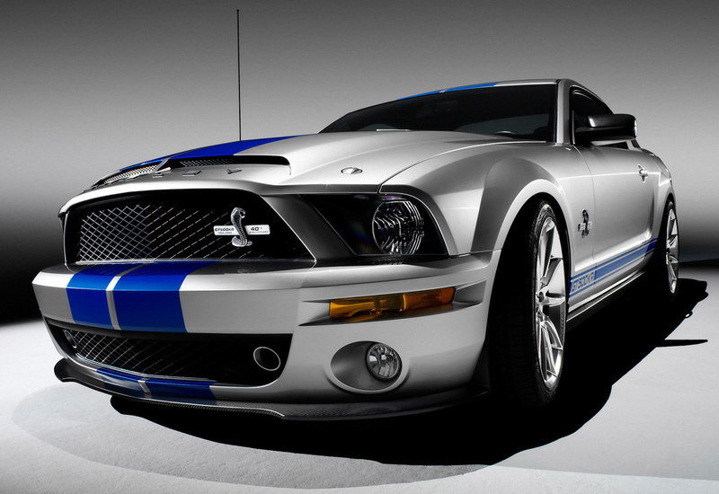 2008 Ford Shelby GT500KR & Quickest Sports Cars for 2009-2010 under $100000 markmcfarlin.com