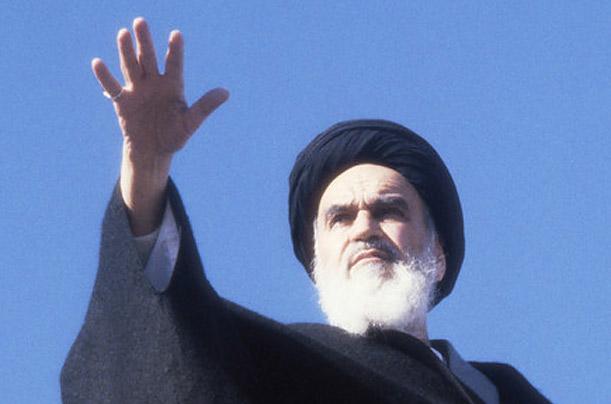 Grand Ayatollah Khomeini (1900-1989) - political & spiritual leader of Iran Ayatullah-Khomeini