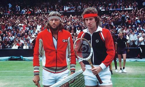 Bjorn Borg McEnroe 1980