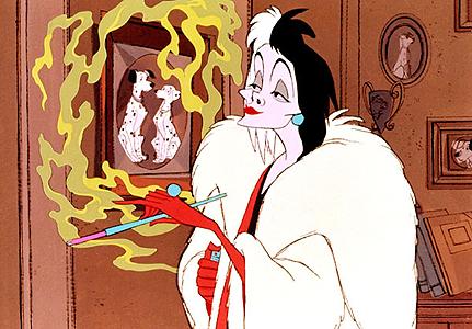 Cruella De Vil 101 Dalmatians