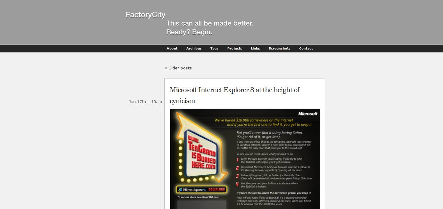 FactoryCity