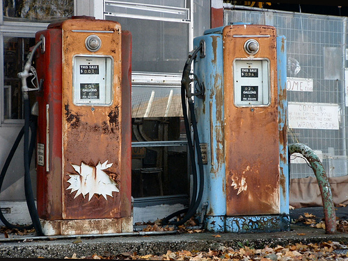 Leaded Gasoline Pumps