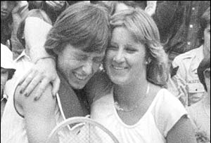 Martina Navratilova Chris Evert 1978