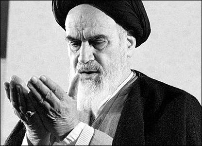 Grand Ayatollah Khomeini (1900-1989) - political & spiritual leader of Iran Ruhollah-Khomeini