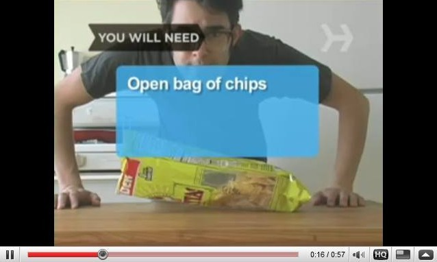 Seal a Bag Of Chips