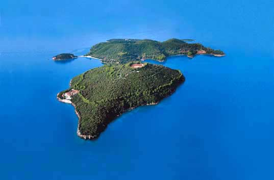Islands Of The World. Skorpios Island Aristotle