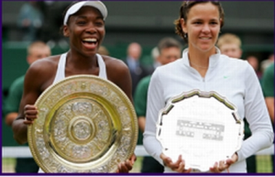 Venus Williams Lindsay Davenport