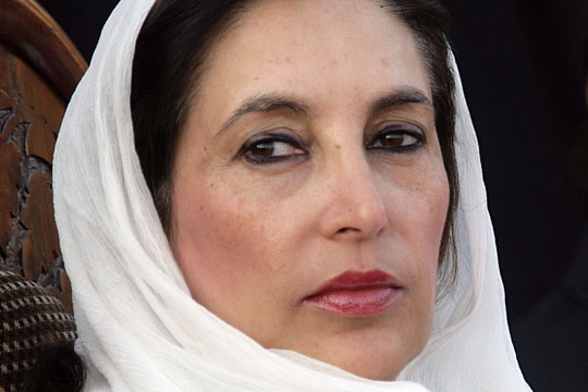 PAKISTAN-UNREST-BHUTTO