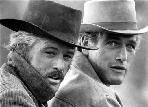 Paul Newman Butch Cassidy And The Sundance Kid