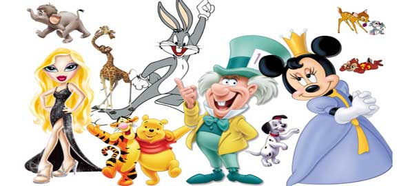 Cartoon-Characters-Top-Ten