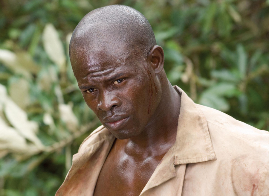 blood diamond dan the man s movie reviews djimon hounsou