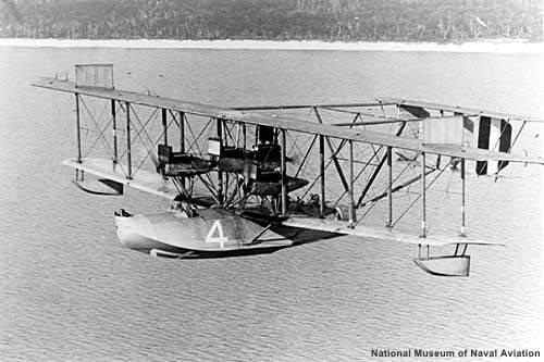 First Flight across the Atlantic - 1919