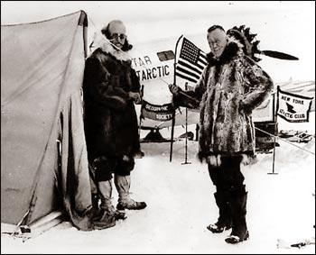 First Flight to Antarctica - 1955