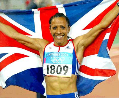 Kelly Holmes Olympics 2004