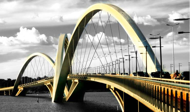 Oliveira Bridge Brazil