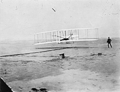 Plane by the Wright Brothers - 1903
