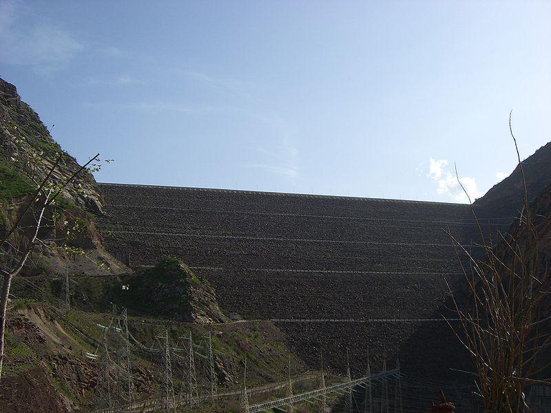 The Nurek Dam