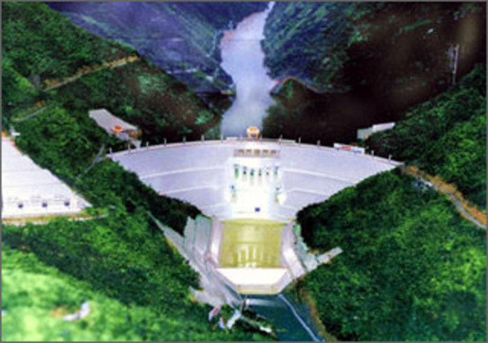 The Xiaowan Dam