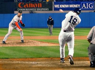 Aaron Boone New York Yankees 2003 Game 7