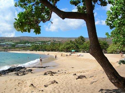 Hulopoe Beach Lanai Hawaii