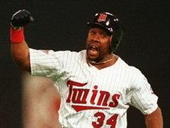 Kirby Puckett Minnesota Twins 1991 Game 6