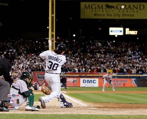 Magglio Ordonez Detroit Tigers 2006 Game 4