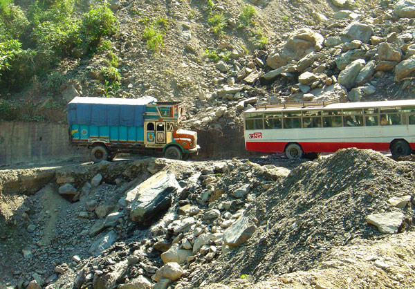 Nepal Tibet Bangladesh Roads