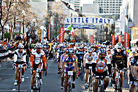 The Gran Fondo Campagnolo Italy
