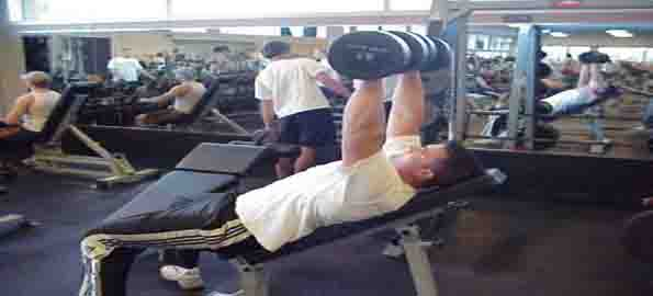 Dumbell Incline Chest Press
