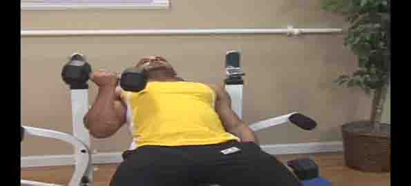 Seated Incline Alternate Dumbbell Curls
