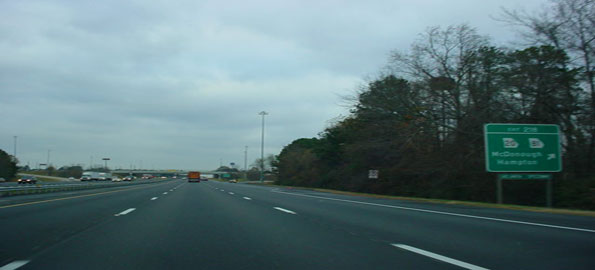 Interstate-75,north-of-Atla