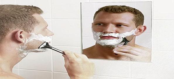 Shaving-on-dry-skin