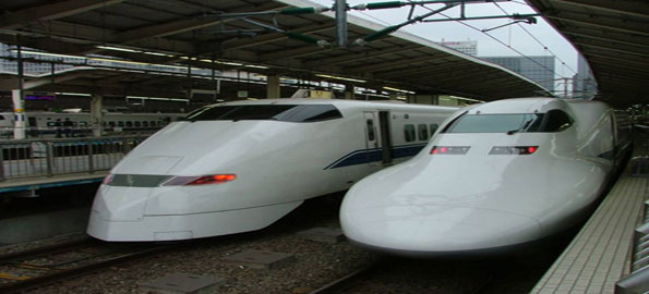 Shinkanzen train