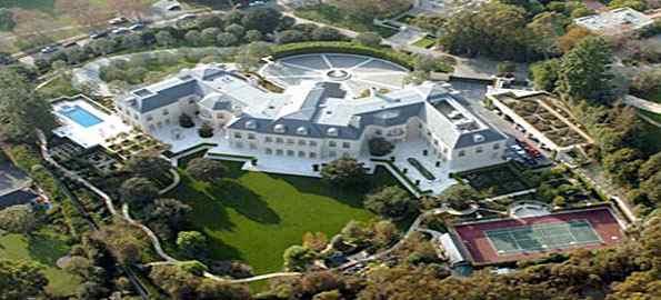 Aaron Spelling's Manor