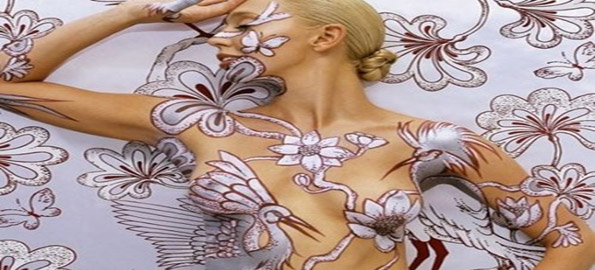 Top-10-Art-Pieces-Created-On-The-Human-Body