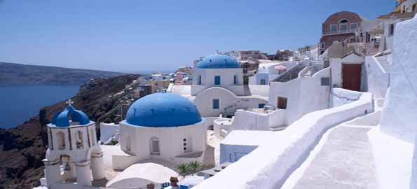 Situated In Greece Santorini Is The Second Greatest Place To Visit On Earth Today Island Was Created As Result Of Volcanic Eruption