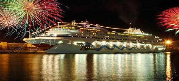 New Year on a cruise