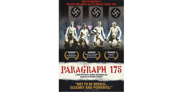 """paragraph 175 View essay - paragraph 175 -2pdf from psychology 101 at albany state university tamara gitlin the documentary, """"paragraph 175"""" (2000), directed by."""