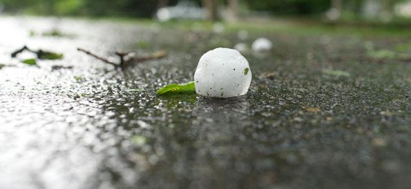 Hail storm