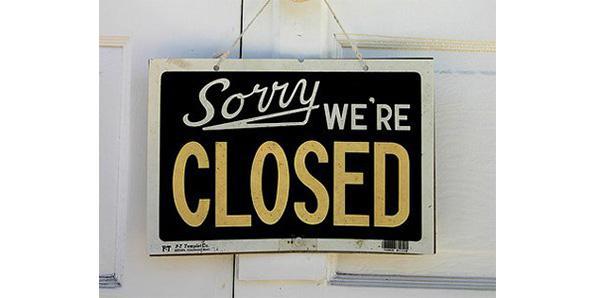 Company shutdown