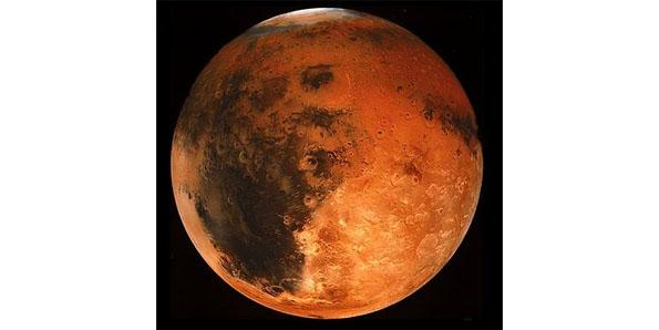 color of mars planet - photo #4