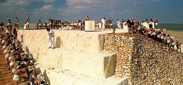 pyramids slave labor
