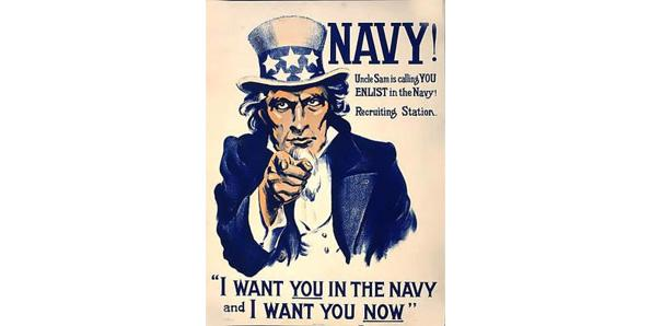 Every woman's dream is to wake up as a man just to join the navy