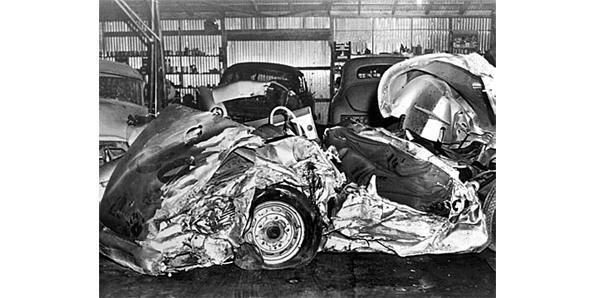 James Dean Car Curse