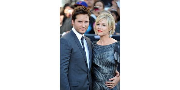 Peter Facinelli and Jennie Garth