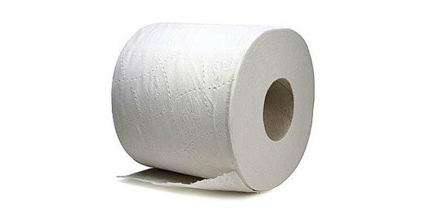 Separating the layers of your toilet paper