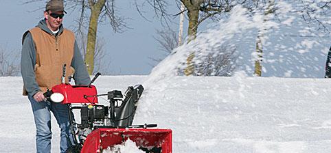snow thrower