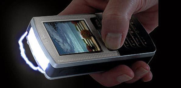 stun gun disguised as mobile phone