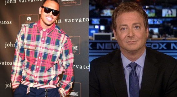 Fox News' Andy Levy vs. Chris Brown